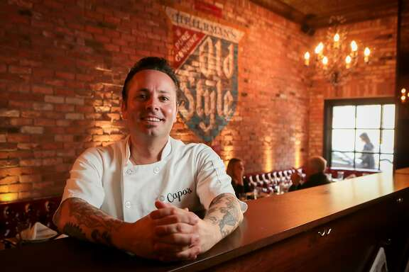 Owner Tony Gemignani at Capo's restaurant in San Francisco, Calif., is seen on Sunday, January 6th, 2013.