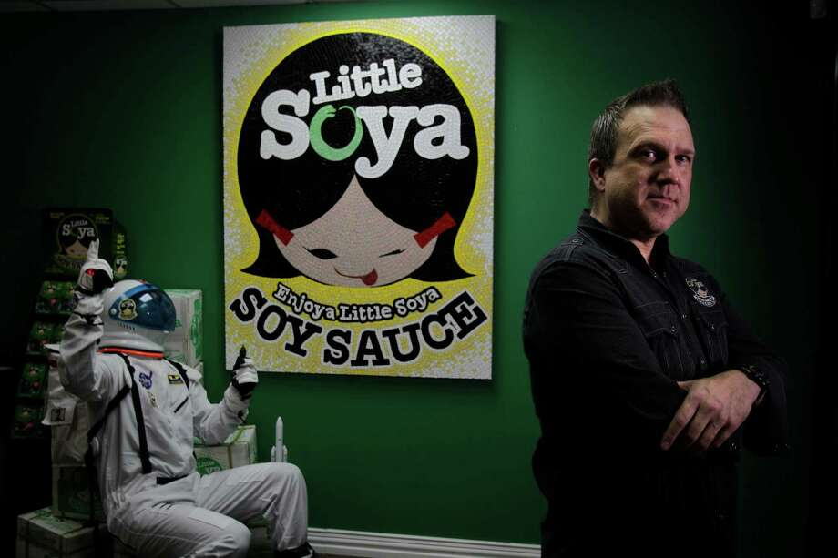 Gary Murphy, president of Houston-based Little Soya, is sending his soy sauce to astronauts on the International Space Station. Photo: Mayra Beltran, Staff / © 2014 Houston Chronicle