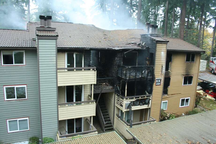 Three people were arrested and one woman killed after a hash oil lab exploded at a Bellevue apartment complex Nov. 5, 2013. The inferno is an example of how unlicensed, do-it-yourself hash oil production can go wrong and some authorities say Washington's recreational and medical marijuana laws don't give police enough guidance to stop them. Photo: Courtesy U.S. District Court Of Western Washington