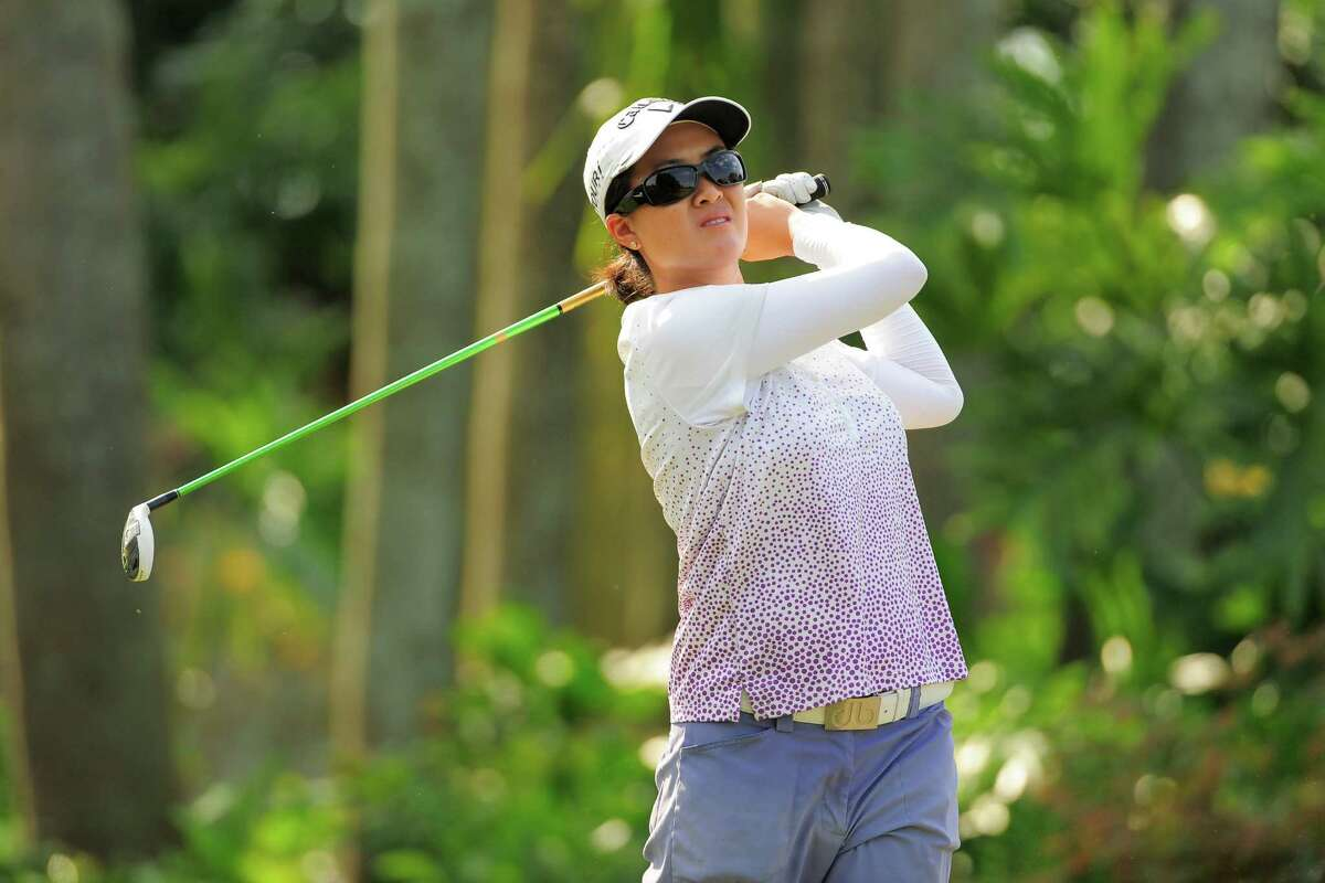 Yueer Cindy Feng during the first round of the Florida's Natural Charity Classic at Lake Wales Country Club on March {today day}, 2014 in Lake Wales, Florida. ©2014 Scott A. Miller/Symetra Tour