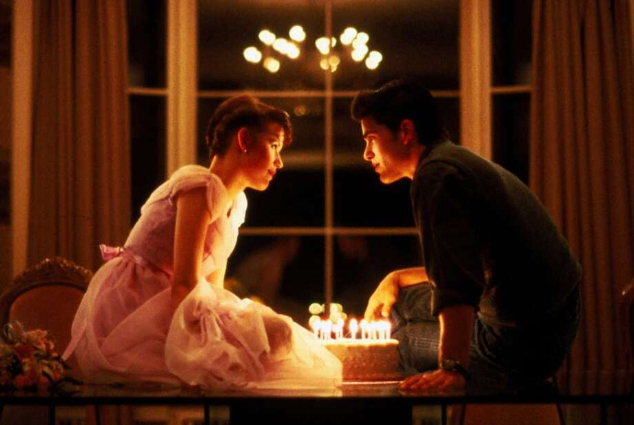 """Samantha Baker and Jake Ryan""""Sixteen Candles"""" made Molly Ringwald a star and remains one of the best-loved teen films of all time. Michael Schoeffling is Jake Ryan, the perfect dream date on Sam's other wise dreadful sweet sixteen. It's a fantasy of teenage wish fulfillment certainly, but blow out the candles anyway. Photo: Anonymous, AP"""