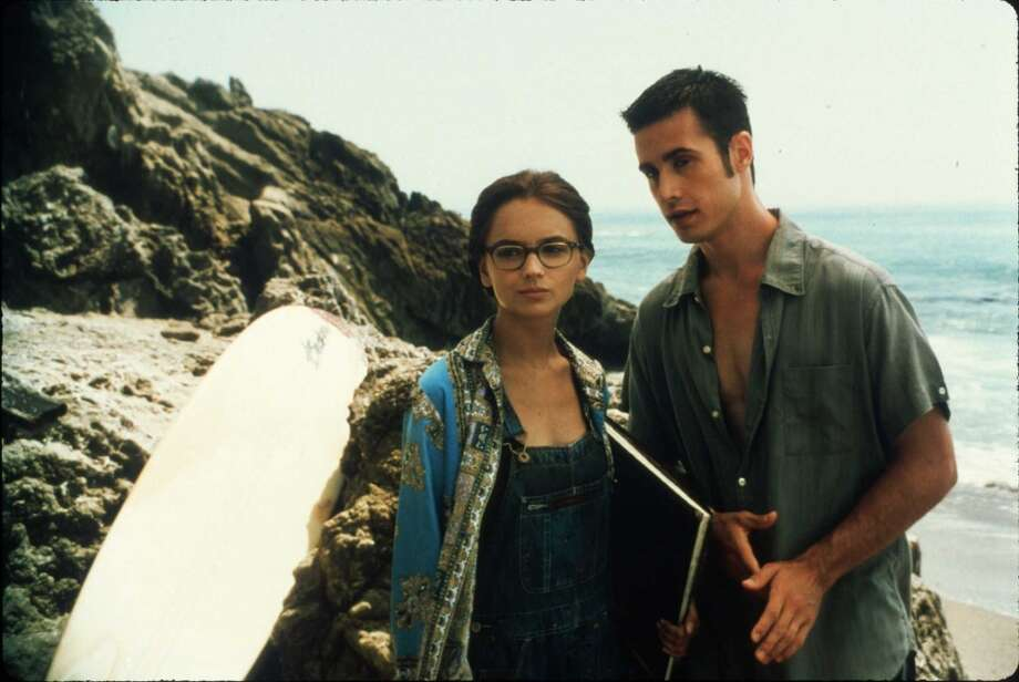 "Zack and Laney""She's All That"" was the '90s teen retelling of ""Pygmalion"" we had all been waiting for. Popular Zack (Freddy Prinze Jr.) makes over frumpy Laney (Rachael Leigh Cook) and eventually he grows ""accustomed to her face."" Love really is about what's inside, but it helps during your teen years if you have a hot, made-over outside, too. Photo: Claudette Barius, Miramax Films"