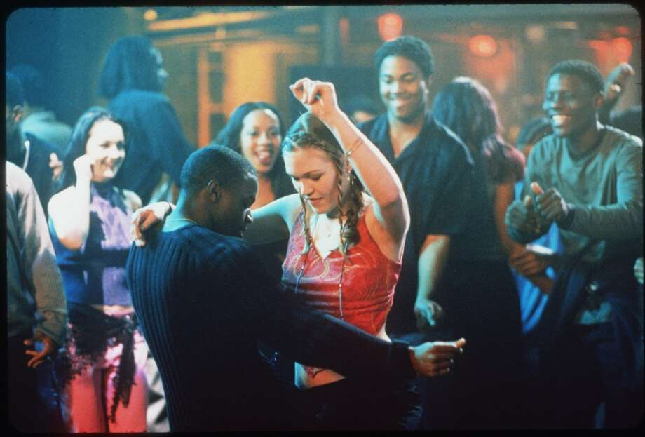 "Sara and Derek ""Save the Last Dance"" is one of many feel good teen hits that use dancing to bridge social schisms (see also ""Footloose,"" ""Hairspray,"" and ""Dirty Dancing""), but Sean Patrick Thomas and Julia Stiles really make this hip-hop-meets-ballet, boy-meets-girl story memorable. It doesn't shy away from depicting some of the difficulties interracial couples face, but with this pair, the dancing speaks for itself. Photo: HANDOUT, SFC"