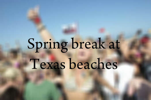 And now, a look back at spring break on Texas beaches including South Padre Island, where plenty of singles celebrated time away from school.