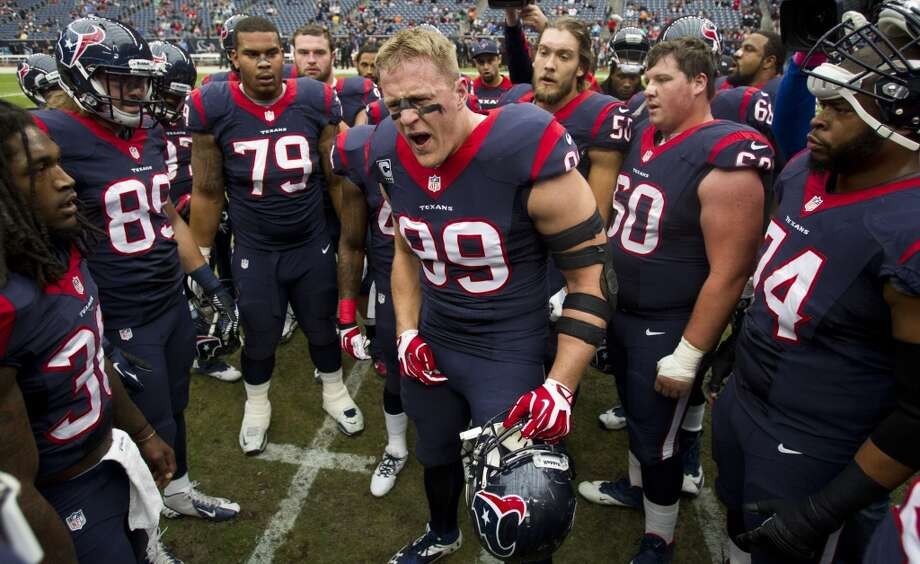 NFL's risers and fallers for the 2014 seasonThe Texans finished 2-14 and have nowhere to go but up in the standings. But let's take a look at the teams on the rise (and fall) in the NFL this year. Trying to predict them is one of the most fun and interesting things to do in the offseason. Photo: Brett Coomer, Houston Chronicle