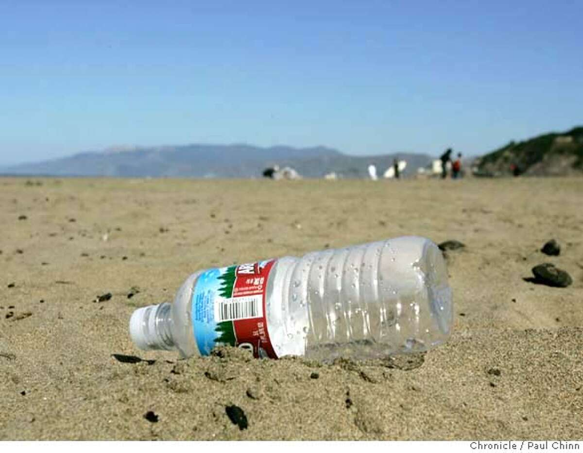 """A UConn study found that """"minuscule pieces of plastic"""" can get trapped in shellfish because plastic does not break down easily."""