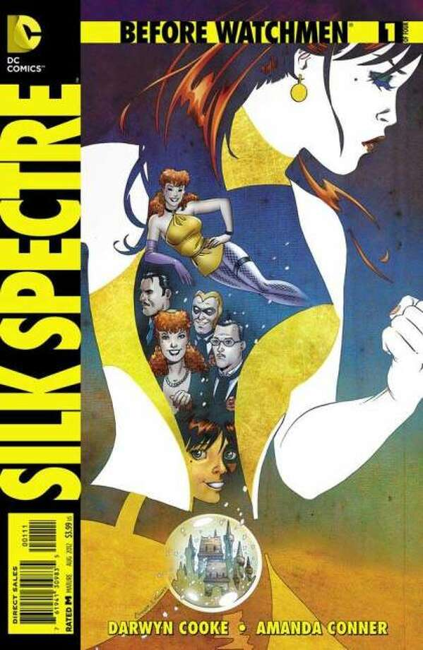 "Follows Laurie, daughter of infamous crimefighter Sally Jupiter;  as she is raised and trained by her mother. moves to San Fransisco with her boyfriend and has the hippie experience during the Woodstock era, Takes a protecting role in her community adopting the name ""Silk Spectre"" to fight crime., and eventually returning home and going to the CrimeBusters meeting shown in original series"