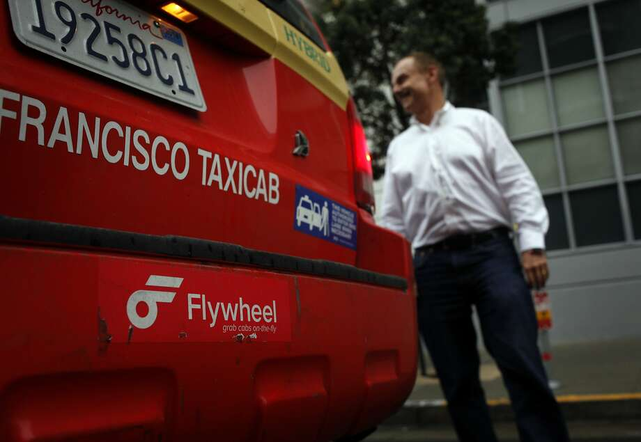 Flywheel, a  smartphone app for taxi drivers, will offer a flat $10 rate for all Flywheel-summoned cab  rides within San Francisco from 8 p.m. Wednesday to 3 a.m. Thursday. Photo: Lacy Atkins, The Chronicle