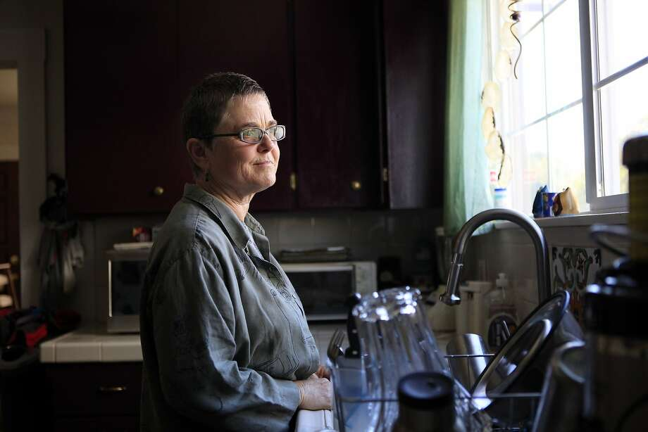 Melanie Hofmann poses for a portrait in her kitchen at her home in Berkeley. Photo: Michael Short, The Chronicle