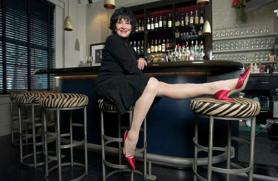 "** ADVANCE FOR WEEKEND, DEC. 8-11 **Broadway legend Chita Rivera poses at Joe Allen's restaurant in New York on Nov. 10, 2005. Rivera, 72, will star in a new show about her life, ""Chita Rivera: The Dancer's Life,"" written by Terrence McNally. (AP Photo/Jim Cooper) Photo: JIM COOPER / AP"