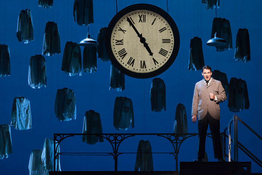 """Christian Bowers as Clyde Griffiths in The Glimmerglass Festival's new production of Tobias Picker's """"An American Tragedy."""" Photo: Karli Cadel/The Glimmerglass Festival. Photo: """"Karli Cadel"""" / """""""