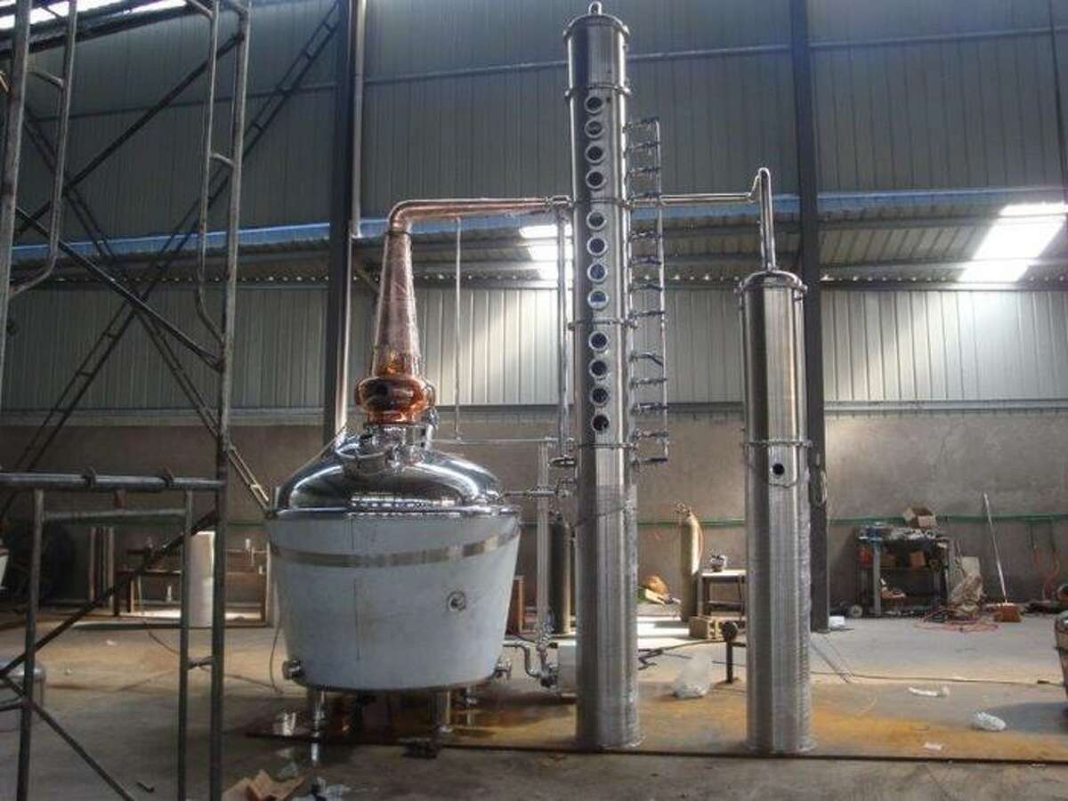 Yellow Rose Distilling's new still. (Yellow Rose Distilling)SLIDESHOW Liquours and beers made right here in Texas ...
