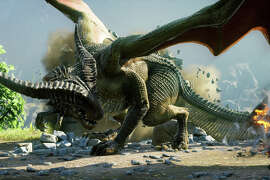 """Dragon Age: Inquisition"" offers a detailed role-playing epic in its fantasy saga that includes war, magic, exploration, romance and dragons on the journey."