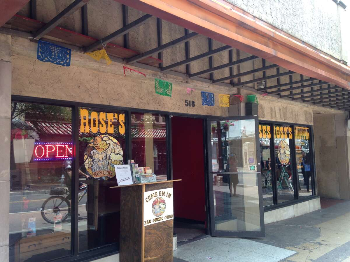 Moses Rose's Hideout, a downwtown restaurant near the Alamo onEast Houston Street, was evacuated and closed immediately after an oven caught fire during the downtown rush Wednesday, July 23, 2014. The fire caused about $10,000 worth of damage, fire officials said.