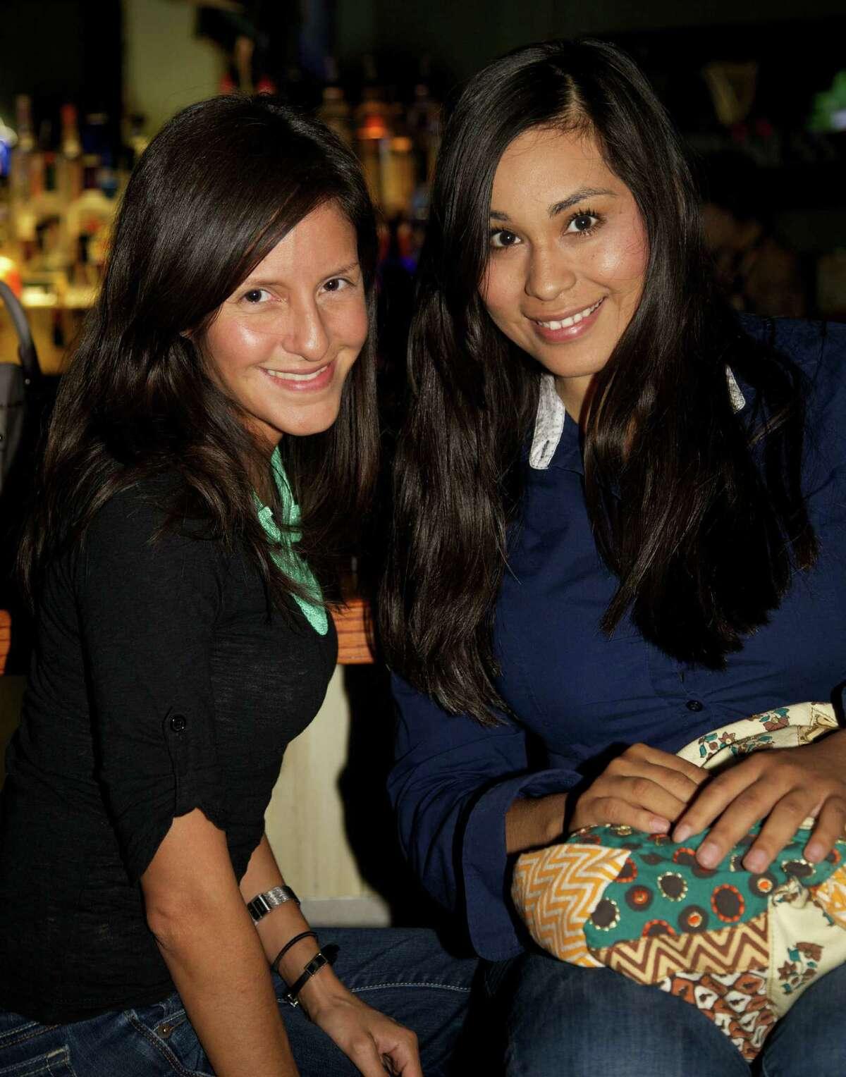 Violet Martinez and Crystal Vilano