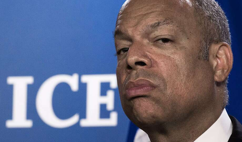 Secretary of Homeland Security Jeh Johnson. Photo: Paul J. Richards, AFP/Getty Images