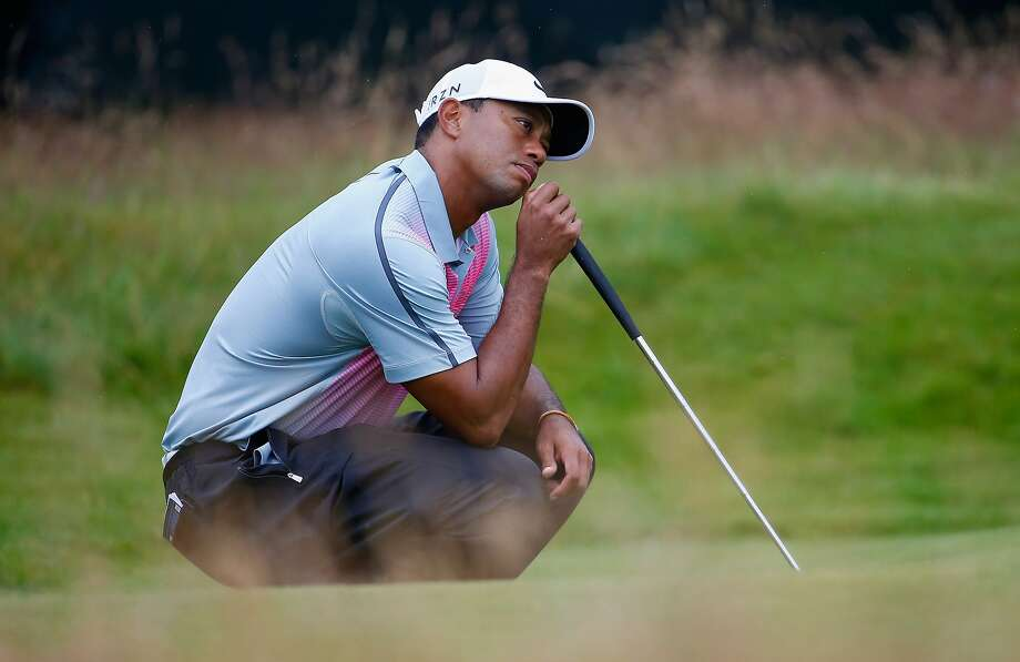 Tiger Woods has played dreadfully in his two starts since returning from surgery. He is 70th in the points list, and finished 6-over at the British Open. Photo: Tom Pennington, Getty Images