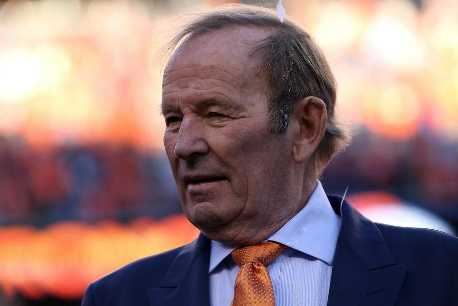 Pat Bowlen, 70, is giving up control of the Denver Broncos because of Alzheimer's disease, which he has been battlng for several years. Photo: Doug Pensinger, Getty Images