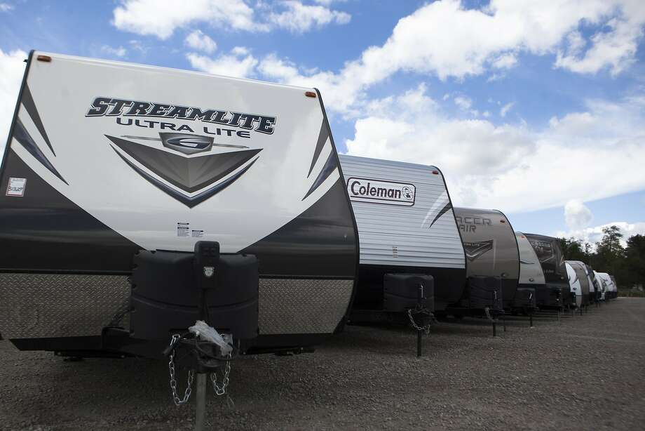 Recreational vehicles come in so many shapes and sizes, and savvy buyers and renters can find great deals starting in the fall. Photo: James Buck, Associated Press