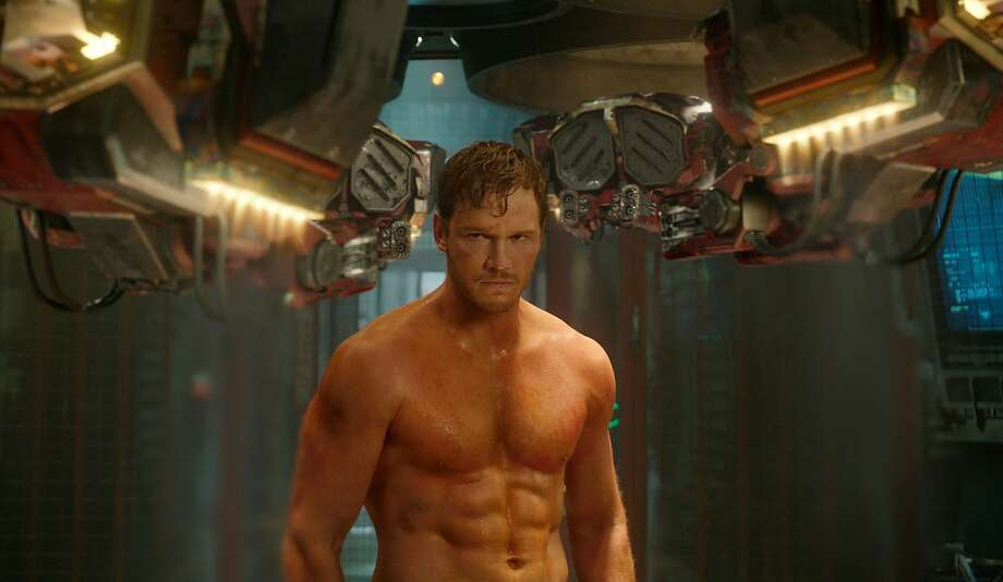 "Chris Pratt stars as Peter Quill in ""Guardians of the Galaxy."" Photo: Associated Press"