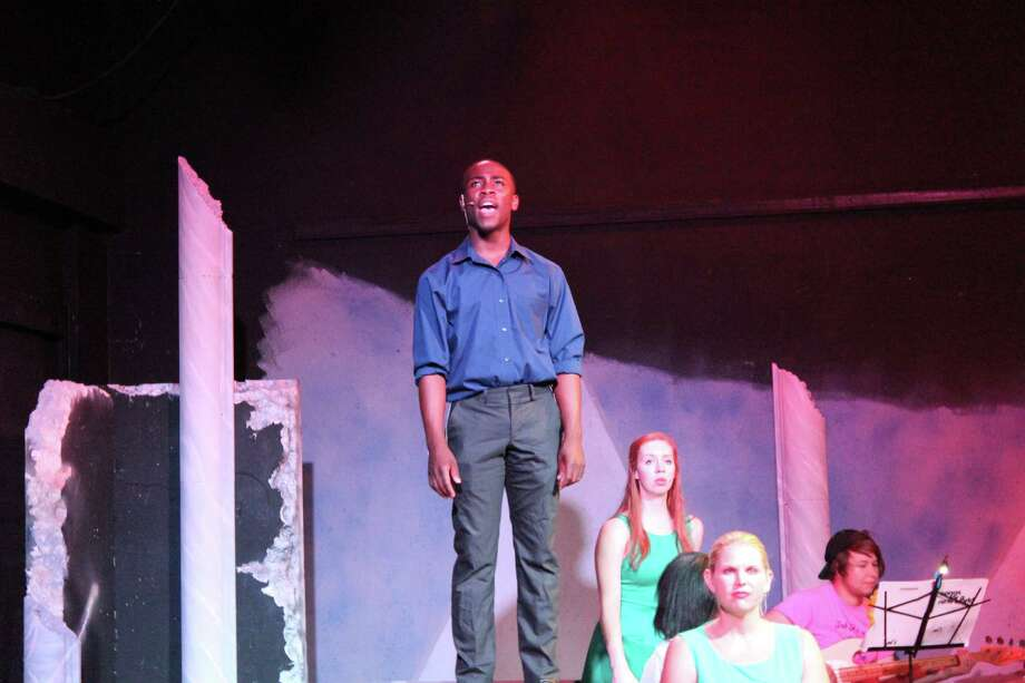 Aaron Taylor in Songs for a New World Photo: Courtesy Photo, Performing Arts San Antonio