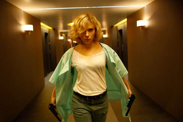 "LucyRotten Tomatoes: 63 percentReview by Mick LaSalle: 'Lucy' review: Straight-up action with serious brains4 starsLike some demented combination of ""Taken"" and Terrence Malick's ""The Tree of Life,"" ""Lucy,"" the latest from Luc Besson, is a full-out action movie - and a sober rumination on the nature of existence. It is both things, effectively and sincerely. Photo: Jessica Forde, Universal Pictures"