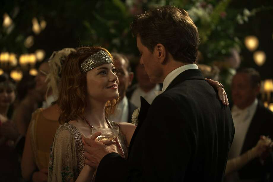 "Emma Stone and Colin Firth are a pleasing pair in Woody Allen's ""Magic in the Moonlight,"" which is set in the 1920s in the south of France. Photo: Jack English, Sony Pictures Classics"