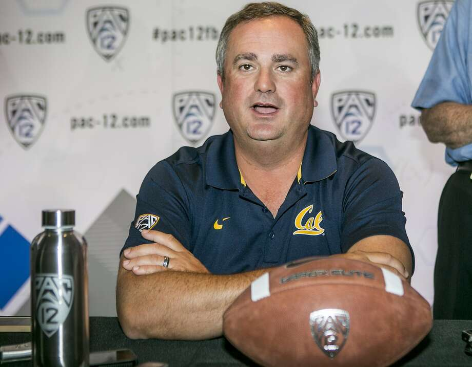 Cal's Sonny Dykes was humbled by the Bears' historically poor performance in his first year as the head football coach. Photo: Associated Press