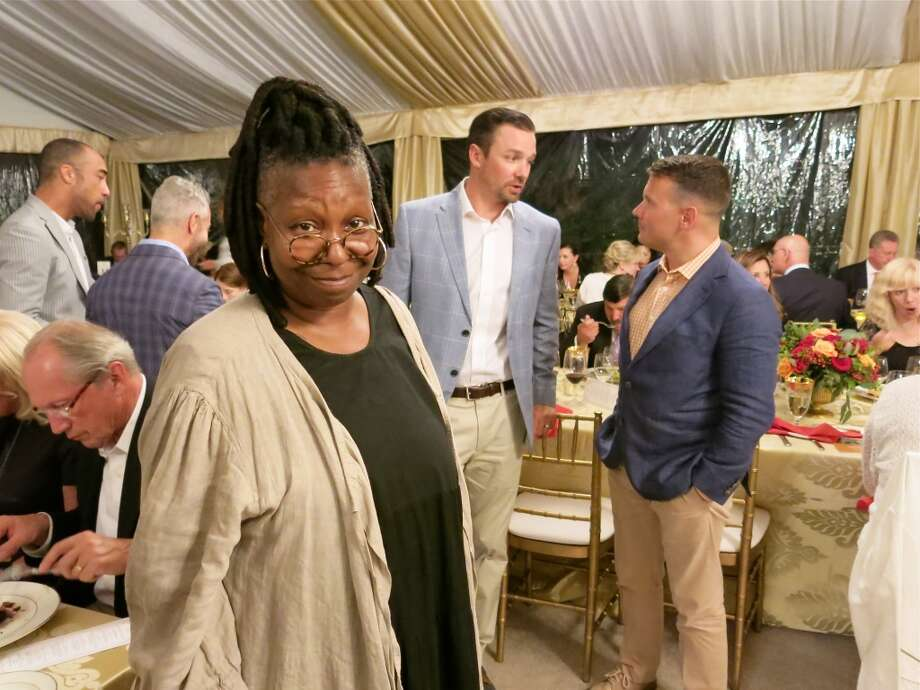 Actress Whoopi Goldberg expertly emceed the tribute program for Loren. Photo: Catherine Bigelow