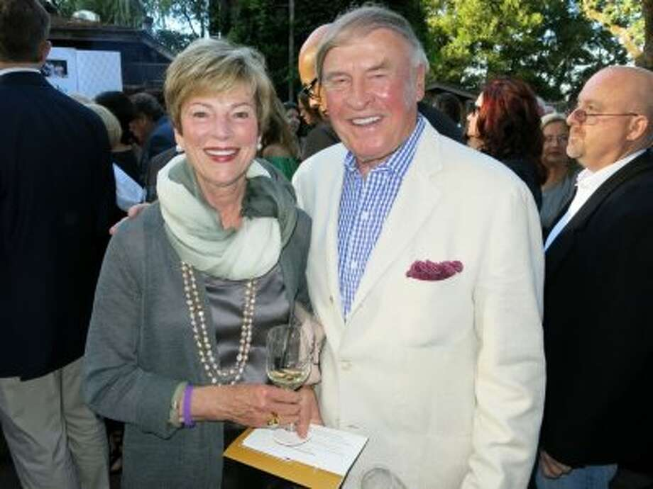Art collectors Pamela and Dick Kramlich. Photo: Catherine Bigelow