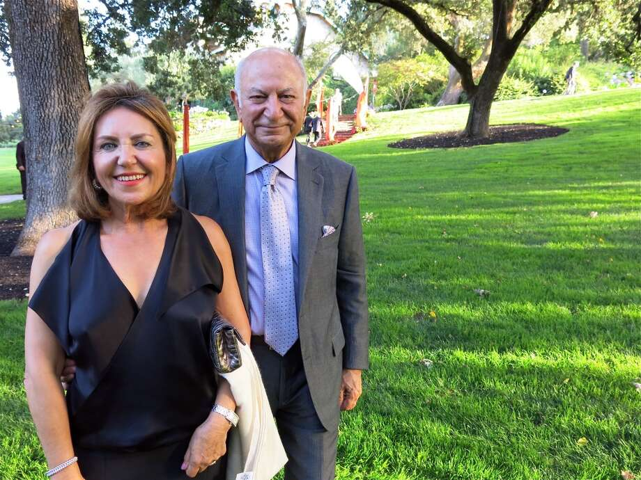 Shahpar Khaledi and her husband, Festival del Sole board chairman Darioush Khaledi. Photo: Catherine Bigelow