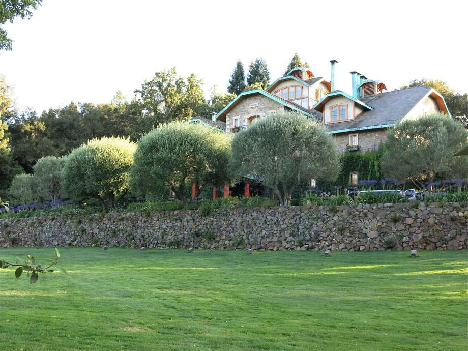 The gorgeous grounds of Far Niente Winery. Photo: Catherine Bigelow