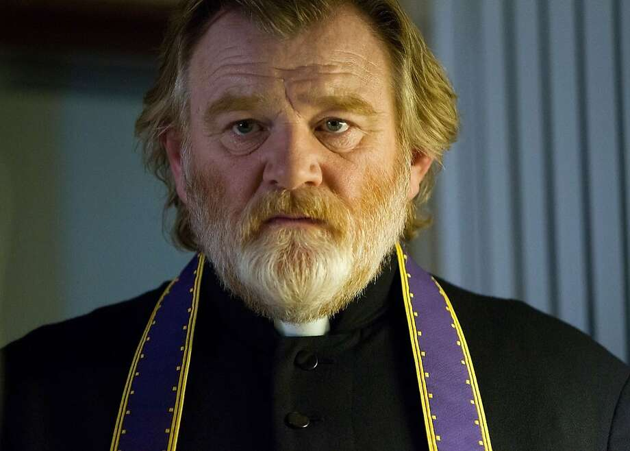 Brendan Gleeson is Father James, the priest in a troubled Irish village. Photo: Fox Searchlight