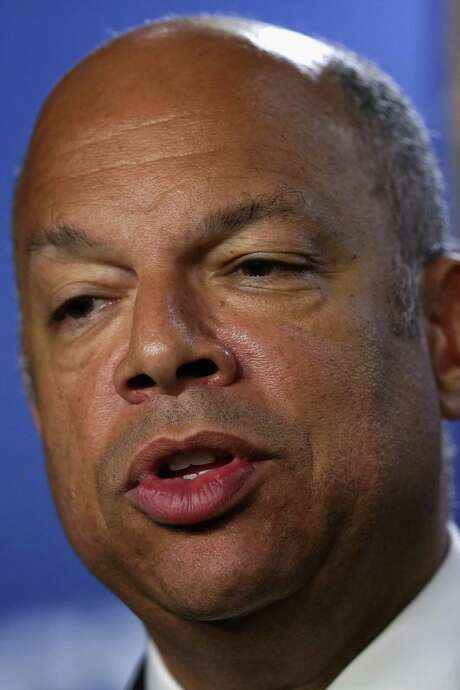 Homeland Security Secretary Jeh Johnson said Congress must act on funding for the surge. / 2014 Getty Images