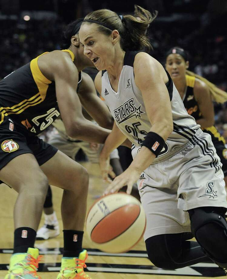 Becky Hammon, with the Stars since 2007, says she doesn't want to be that player who hangs on too long. Photo: Darren Abate / For The Express-News / Express-News