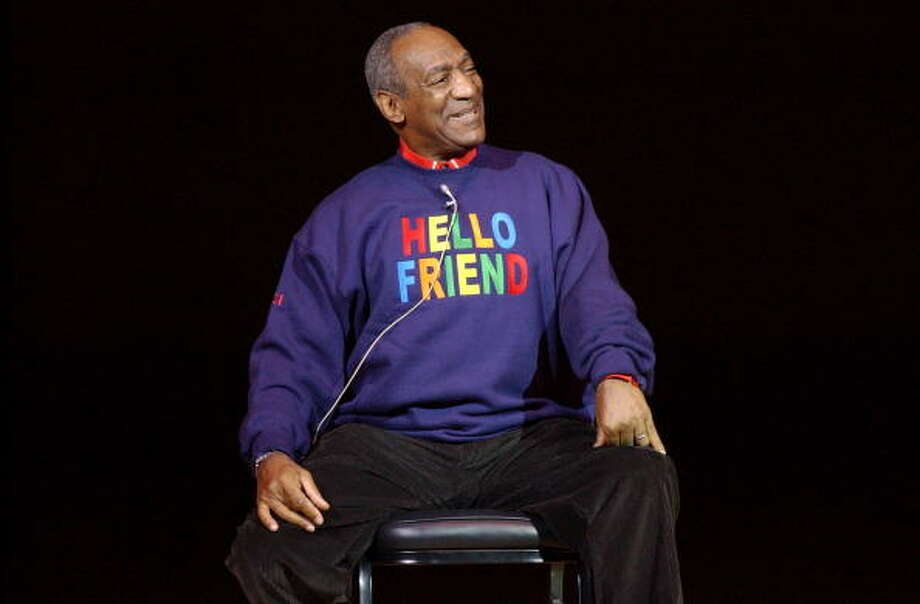 "Bill Cosby photographed during his performance at Carnegie Hall for ""Stand Up for New York, "" a performance that will benefit the Twin Towers Fund and the New York Police and Fire Widows and Children's Benefit Fund(NYPFWCBF). (Photo by KMazur/WireImage) Bill Cosby photographed during his performance at Carnegie Hall for ""Stand Up for New York,"" a performance that will benefit the Twin Towers Fund and the New York Police and Fire Widows and Children's Benefit Fund(NYPFWCBF). (Photo by KMazur/WireImage) Photo: KMazur, Getty Images / Getty Images"
