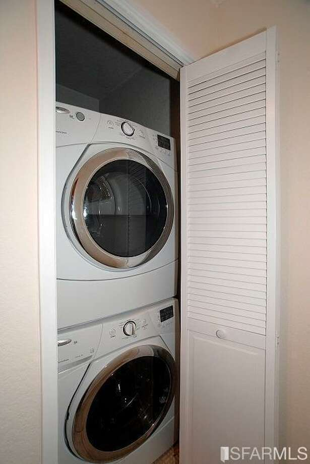 In-unit laundry Photo: MLS