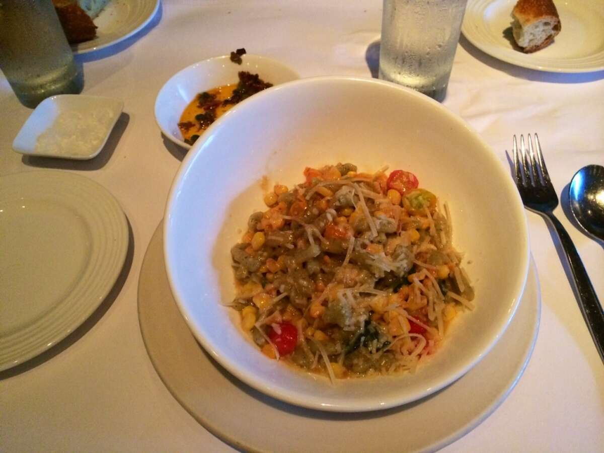 The cavatelli was overwhelmed by the other ingredients ($13).
