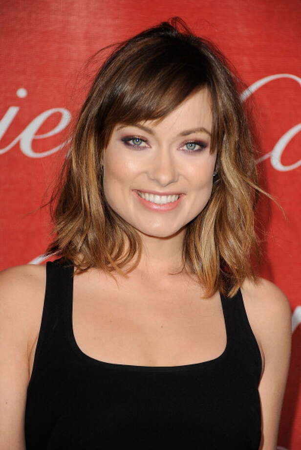 Olivia Wilde's green eyes. Photo: Frazer Harrison, Getty Images / 2012 Getty Images