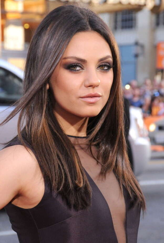 Mila Kunis has two different colored eyes - one brown and one green.  Photo: Barry King, Getty Images / 2012 Barry King