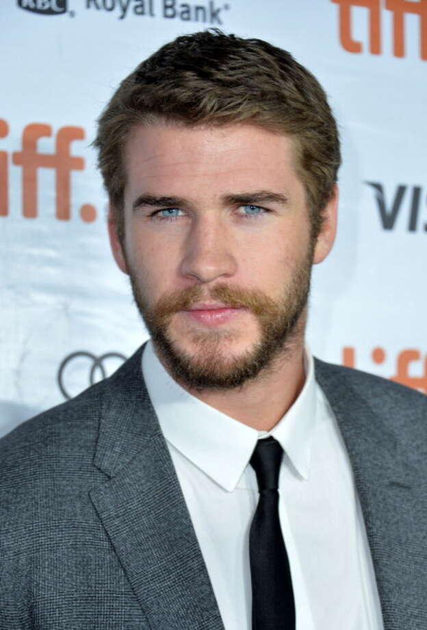 Liam Hemsworth stands out with bright blue eyes. Photo: Alberto E. Rodriguez, Getty Images / 2013 Getty Images