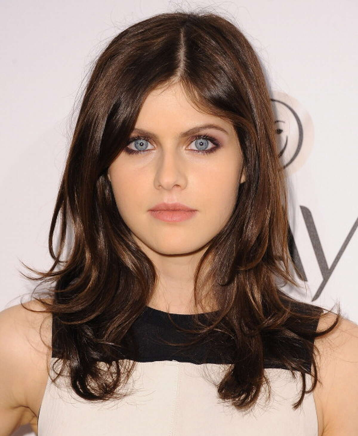 'Percy Jackson' star Alexandria Daddario has eyes that are simply amazing.