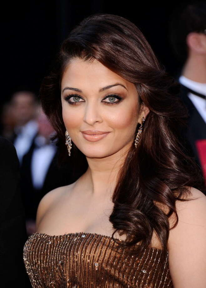 Indian actress Aishywarya Rai is known for her sexy green eyes. Photo: Kevork Djansezian, Getty Images / 2011 Getty Images