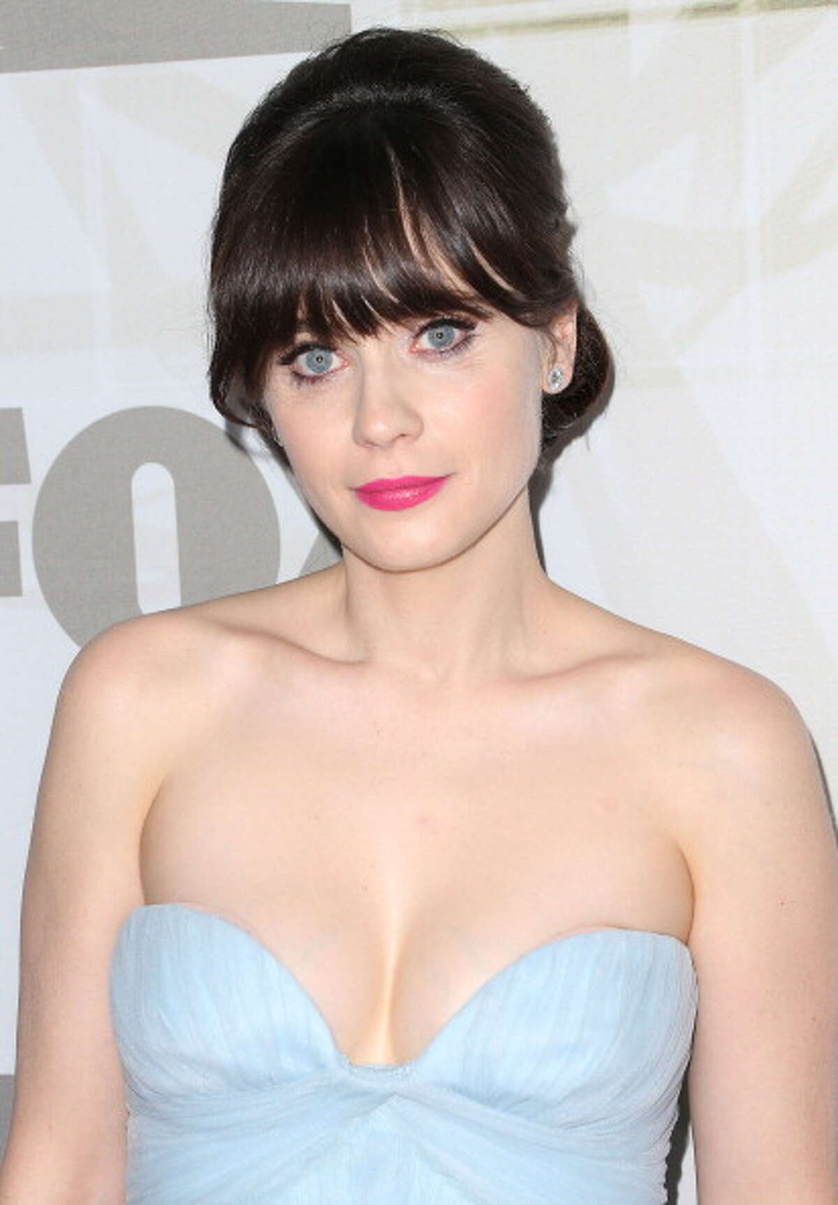 'New Girl' star Zooey Deschanel has some of the most striking, big blue eyes in Hollywood.