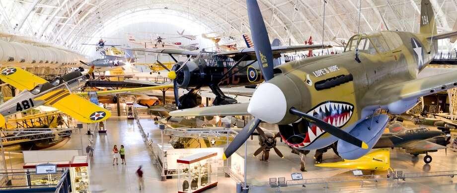 1. Smithsonian National Air and Space Museum Steven F. Udvar-Hazy Center (Chantilly, Va.) Photo: Dane Penland