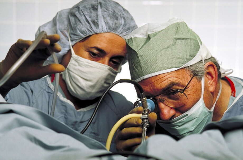 No. 4: Obstetrician and GynecologistAnnual mean wages: $212.570Employees in the field: 21,730 Photo: John Greim, Getty Images / © 2009 John Greim