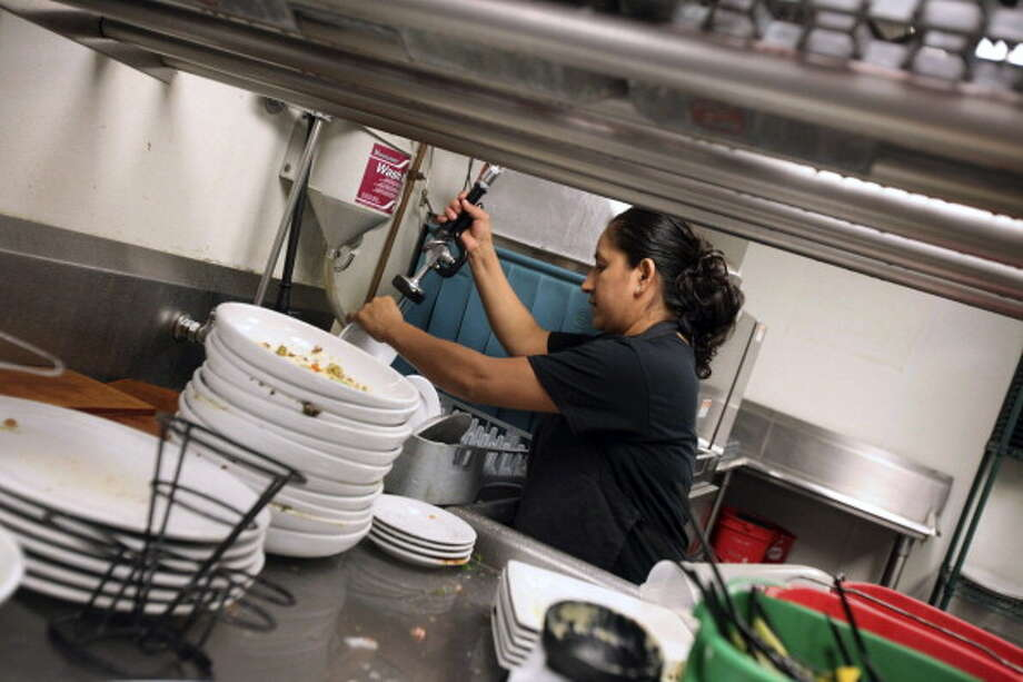 No. 4: Dishwasherhourly wages: $9.22annual wages: $19,180Employees in the field: 498,110 Photo: Bloomberg, Getty Images / 2013 Bloomberg