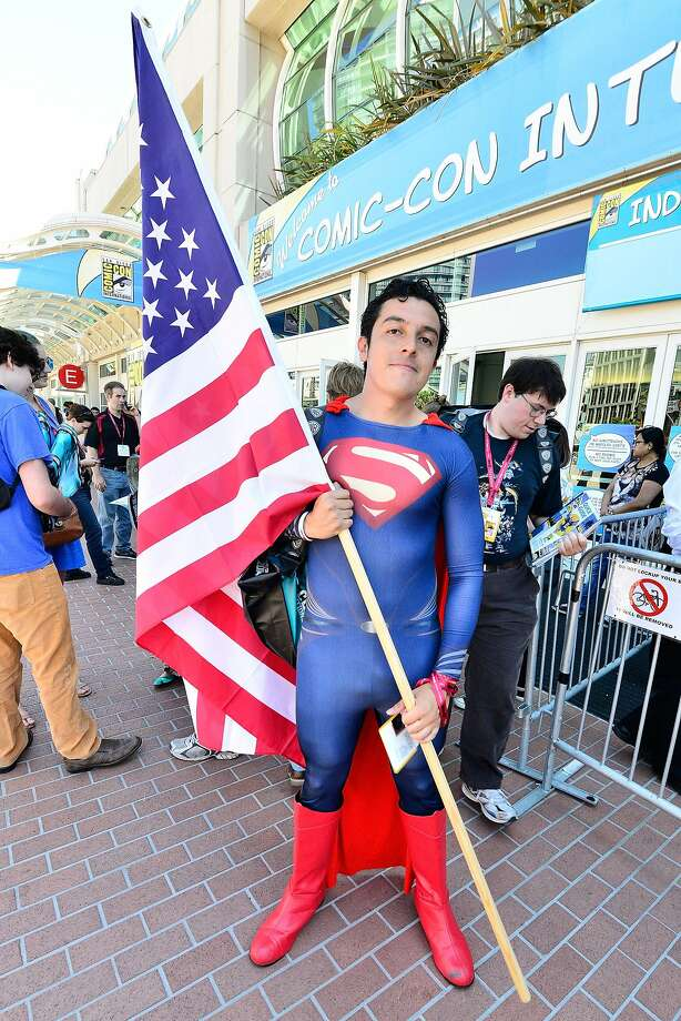 A general view of the atmosphere as San Diego prepares for Comic Con on July 23, 2014 in San Diego, California.  Photo: Jerod Harris, Getty Images