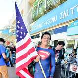 A general view of the atmosphere as San Diego prepares for Comic Con on July 23, 2014 in San Diego, California.