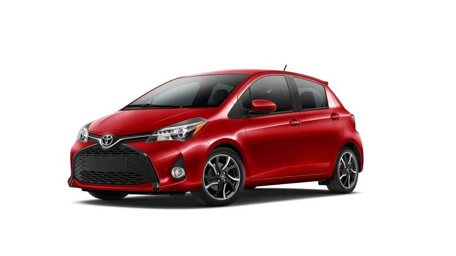 The 2015 Toyota Yaris Photo: Newspress USA
